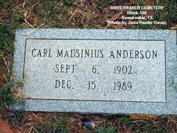 Carl Madsinius Anderson