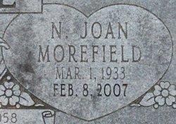 N Joan <i>Morefield</i> Cole