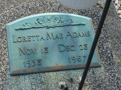 Loretta Mae <i>Wilder</i> Adams