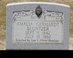 Amalia <i>Gerhardt</i> Bluntzer