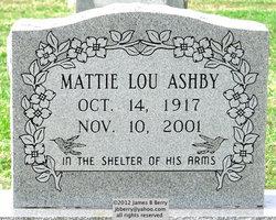 Mattie Lou Ashby