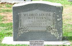 Mildred Louise <i>Ashby</i> Welborn