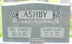 Gladys <i>Ellzey</i> Ashby