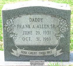 Frank A Allen, Sr