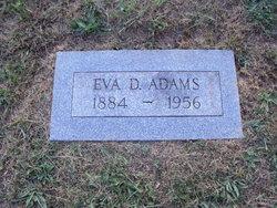Eva D. <i>Bowers</i> Adams