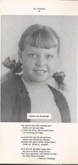 Martha Lee Roudabush