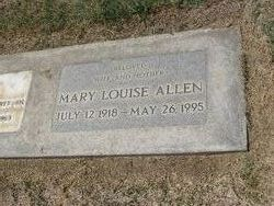 Mary Louise <i>Klutts</i> Allen