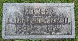 Letha Arelia <i>Sheppard</i> Blackwell