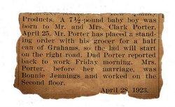 Bonnie Marie <i>Jennings</i> Porter