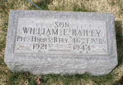 Pvt William E Bailey