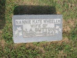Nannie Kate <i>Wheeler</i> Sutton