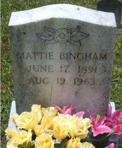 Mattie <i>Gray</i> Bingham