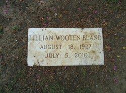 Lillian Hooker <i>Wooten</i> Bland