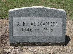 A. K. Alexander