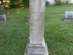 Ann Rebecca <i>Willett</i> Ballard