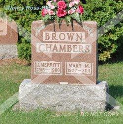 Mary May <i>Chambers</i> Brown-Haley