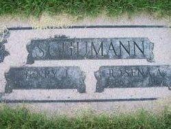 Rosena A <i>Bottjen</i> Schumann