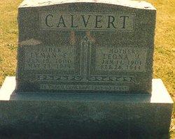 Leona J. <i>Williams</i> Calvert