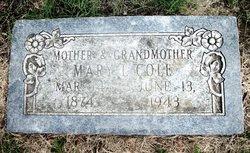 Mary Luvenia <i>Hall</i> Cole