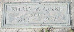 Elijah Willis Baker