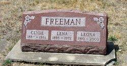 Lena Mae <i>Waggoner</i> Freeman