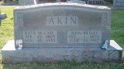 Katherine Katie <i>McCabe</i> Akin