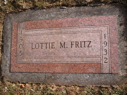 Lottie M <i>Thomas</i> Fritz