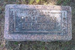 Frieda M Bendorf