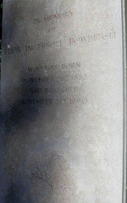 Eliza Ingersoll Bowditch