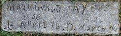 Malvina Jane <i>Arnold</i> Ayers