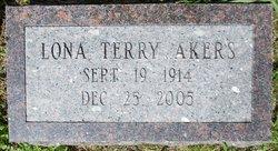 Lona Terry <i>Arnold</i> Akers