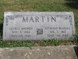 George <i>Madden</i> Martin