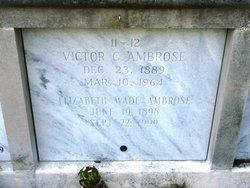 Victor C Ambrose