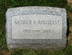 Arthur R Ahlquist