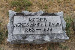 Agnes Marie Louise <i>Horst</i> Baird
