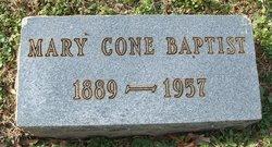 Mary <i>Cone</i> Baptist