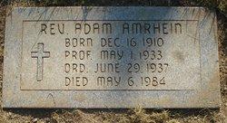 Rev Adam Amrhein
