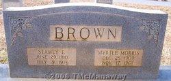 Myrtle <i>Morris</i> Brown