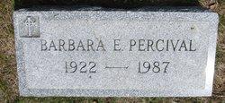 Barbara Marion <i>Edwards</i> Percival