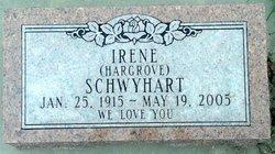 Irene <i>Hargrove</i> Schwyhart