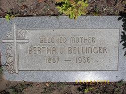 Bertha Alma Bee <i>Upthegrove</i> Bellinger