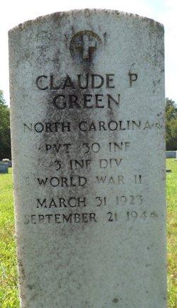 Pvt Claude P. Green