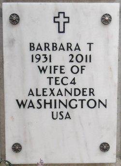 Barbara T Washington