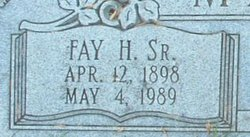 Fay Hempstead Martin, Sr
