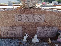 Helen Juanita Maw Maw <i>Morrow (Akers)</i> Bass