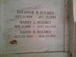 Harry L Holmes