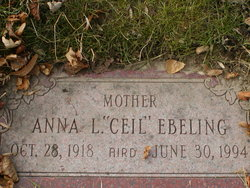 Anna Lucille <i>Canavan</i> Ebeling