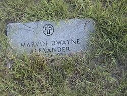 Marvin Dwayne Alexander
