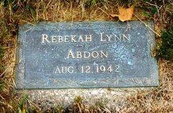 Rebekah Lynn Abdon