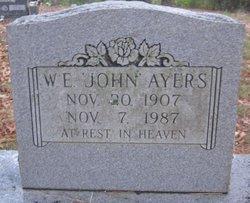 W E John Ayers